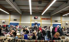 Zondag Vlooienmarkt in Sporthal de Vaart