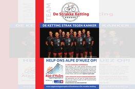 De Strakke Ketting gaat uitdaging Alpe D'Huzes aan