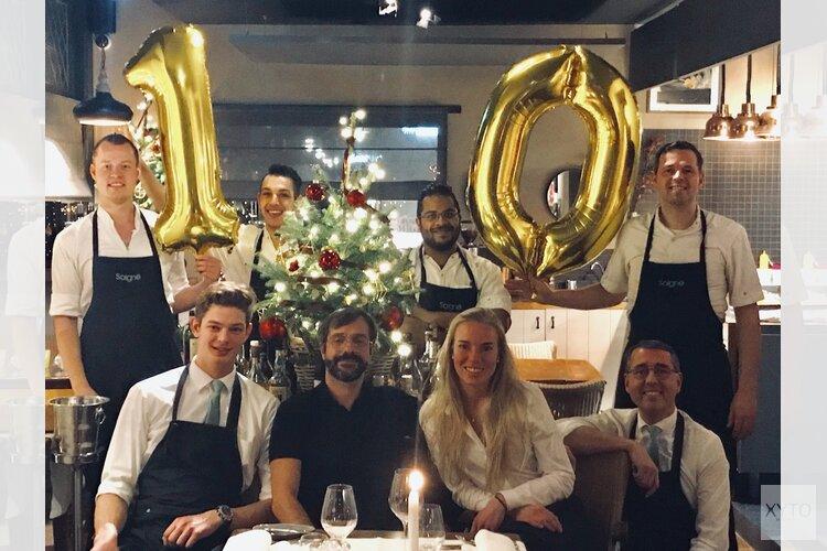 Tien jaar een Michelinster voor chef Dennis Jong van restaurant Soigné!
