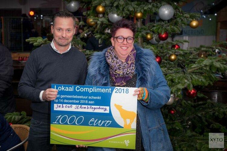 Petra van Schie van stichting Roze en Regenboog wint Lokaal Compliment 2018