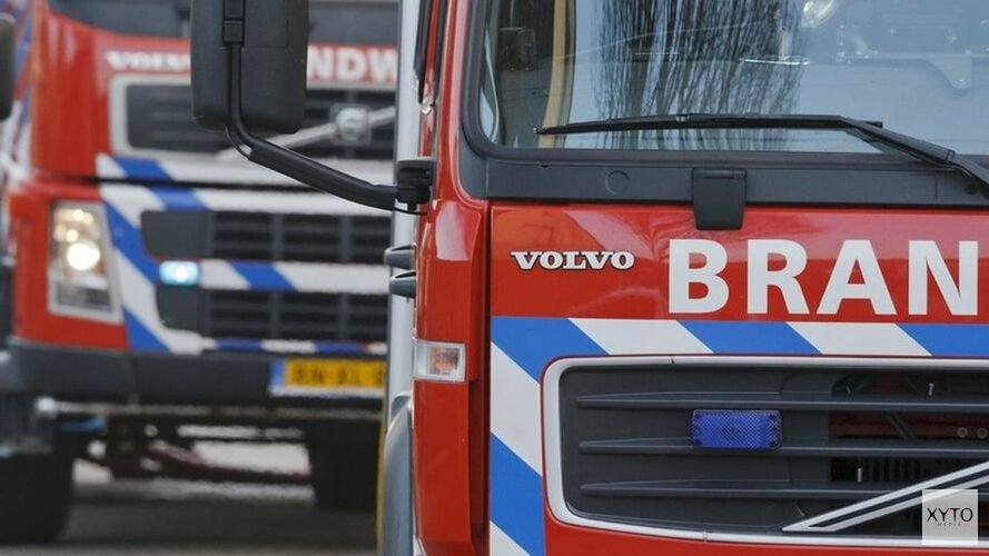 Autobrand op A7 veroorzaakt files(video)