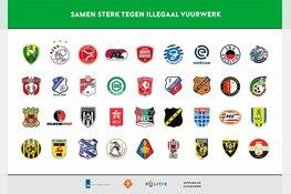 Betaald voetbalclubs weren zich tegen illegaal vuurwerk