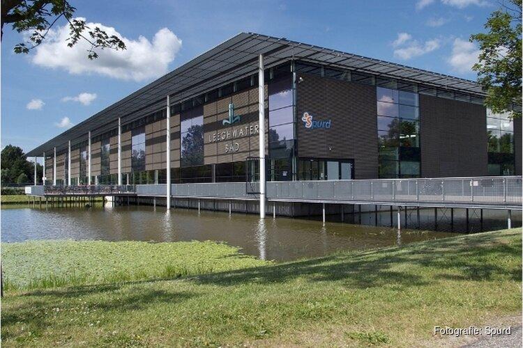 Sportbad Leeghwaterbad krijgt vaste tribune