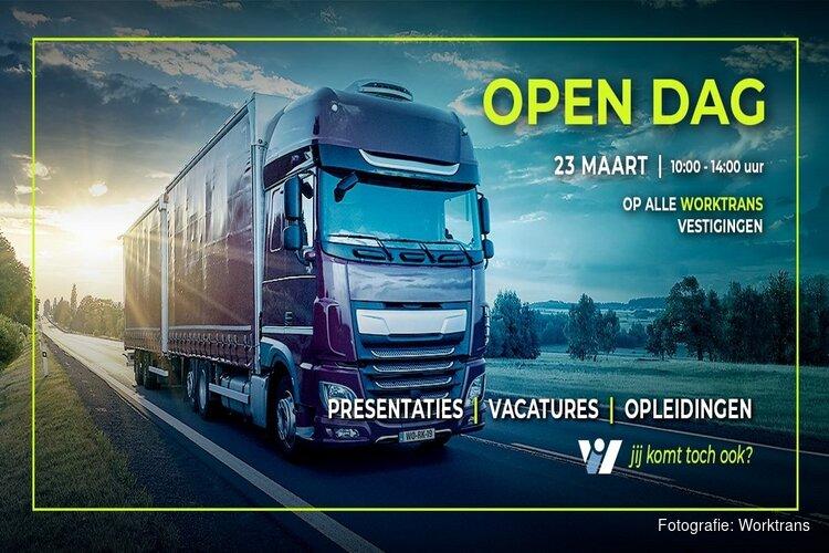 Landelijke open dag op 23 maart bij Worktrans