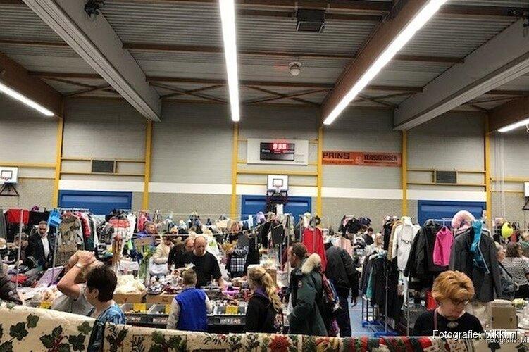Vlooienmarkt in Sporthal de Vaart
