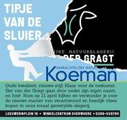 Natuurslagerij Koeman komt naar Purmerend!