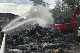 Niets meer over van boerderij Purmer na verwoestende brand