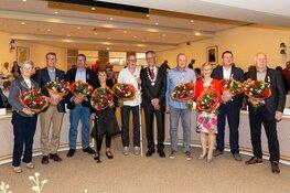 Burgemeester reikte negen Koninklijke onderscheidingen uit