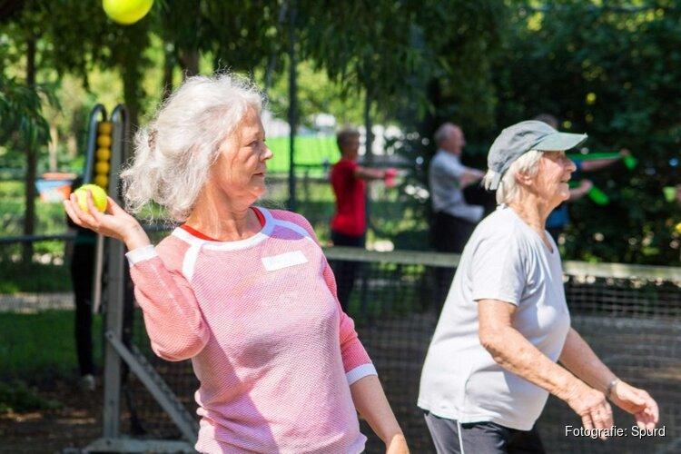 Sporten voor ouderen in de buitenlucht