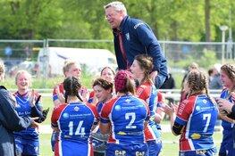 Rugbydames grijpen naast finaleplaats maar worden 3e van Nederland