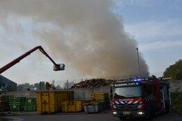 Grote brand in afvalverwerkingsbedrijf Purmerend is onder controle