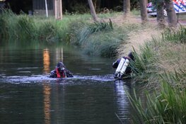 Kinderfiets aanleiding tot duikactie in sloot