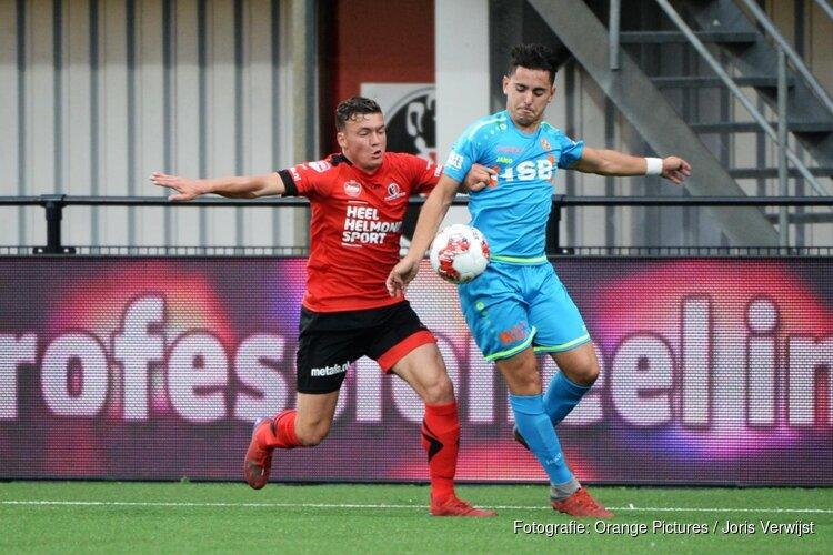 Strijdend FC Volendam toch nog naast Helmond Sport