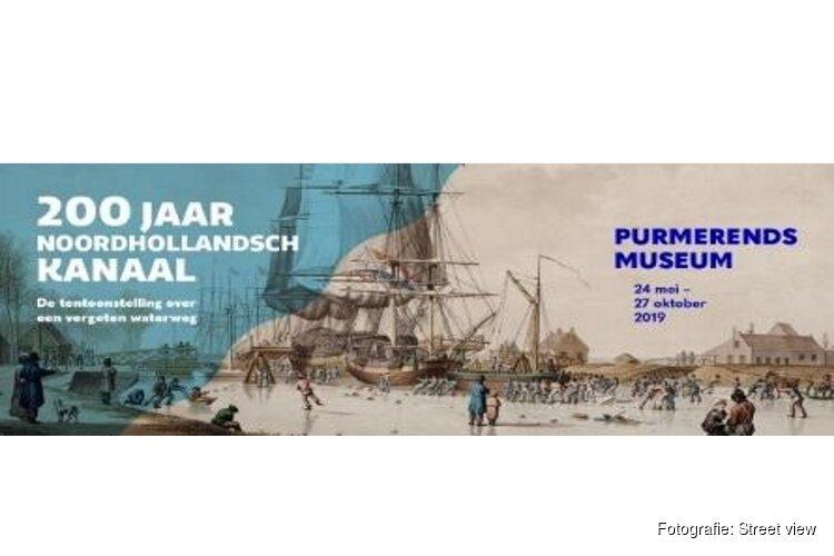 Nog te zien t/m 27 oktober 2019 - 200 Jaar Noordhollandsch Kanaal