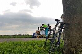 Gewonde wielrenner aangetroffen in Zuidoostbeemster