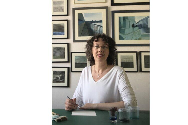 Purmerendse kunstenaar Nynke van Zwol in Museum Jan Boon