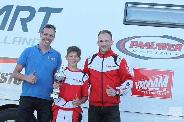 """Luke Visser miste het racen in kartloze periode: """"Eindelijk weer op het podium"""""""