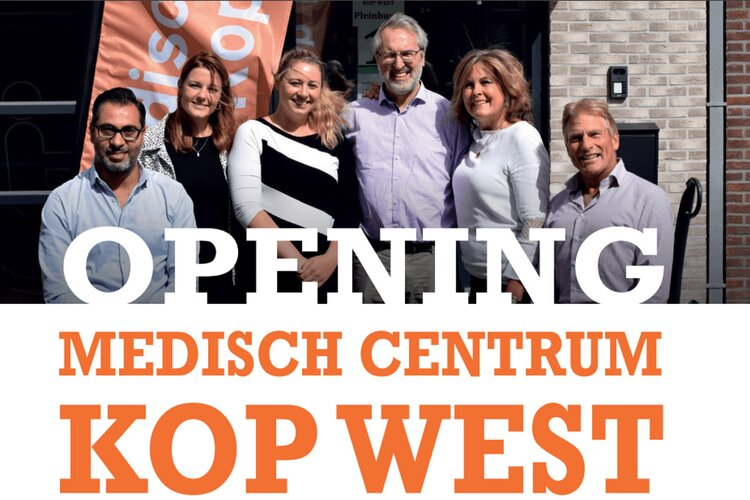 Opening Medisch Centrum Kop West